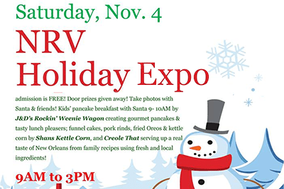 11/4: Holiday Expo with Breakfast with Santa