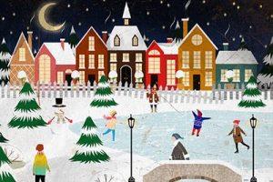 kids-christmas-village