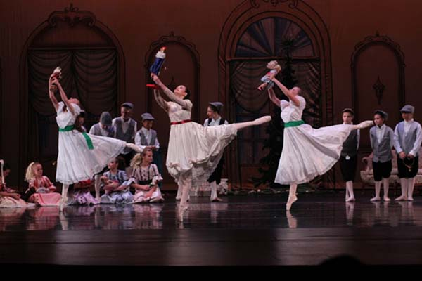 New West dancers join professionals in Nutcracker productions