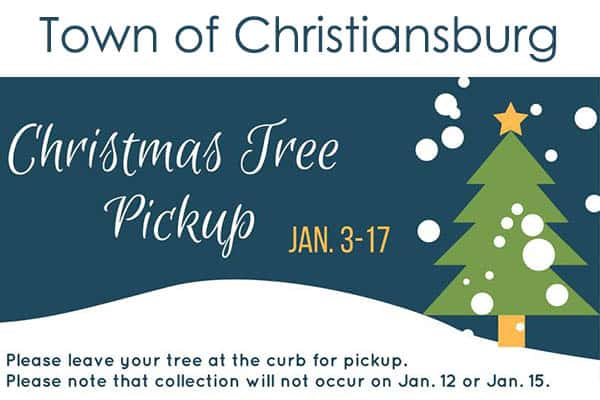 Christmas Tree Pick Up.Nrvnews New River Valley News Weather Events
