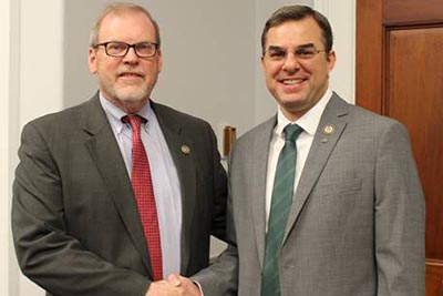 Congressman Morgan Griffith (R-VA) and Congressman Justin Amash (R-MI), House Liberty Caucus Chairman