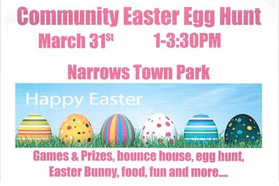 Narrows Easter Egg Hunt