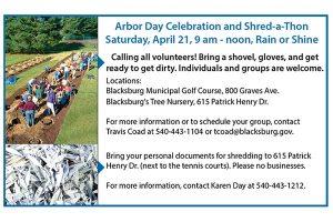 Arbor Day and ShredAThon 2018
