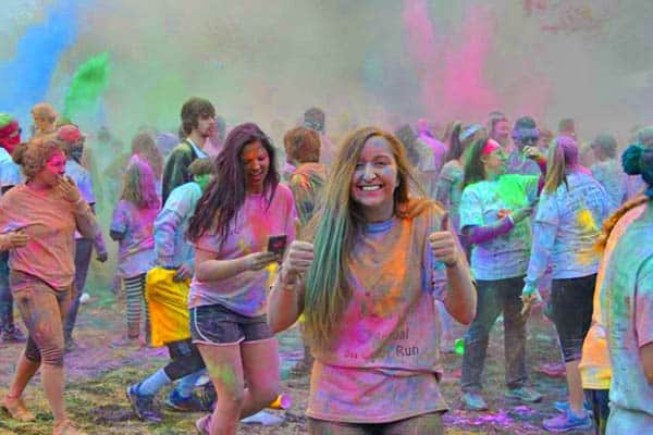 how to start a color run