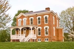 Glencoe Mansion, Museum and Gallery located in Radford, Virginia. Historic home of Gen. Gabriel C. and Nannie Radford Wharton.