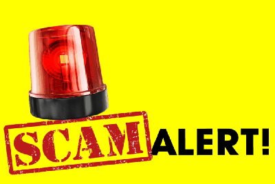 Phone scam reported