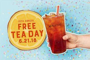 free tea pop