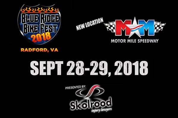 9/28 & 29: Blue Ridge Bike Fest 2018