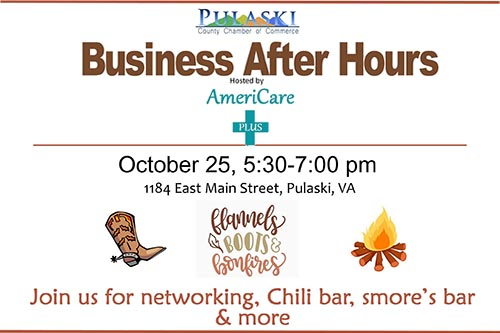10/25: Business After Hours