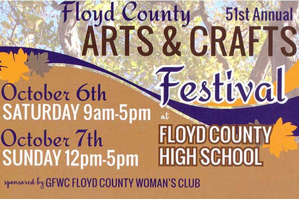 10/6 & 7: Floyd Arts & Crafts Festival