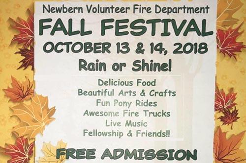 10/13-14: Newbern Fall Festival