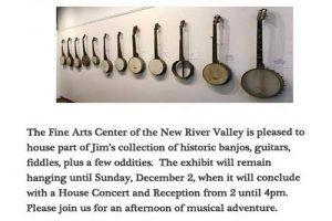 Jim Lloyd Appalachian Music Exhibit