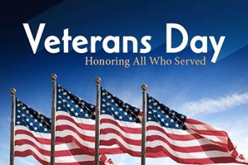 Veterans Day Events, Closures & Trash Pickup