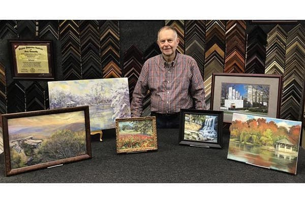 Local Artist Dave Petersen Showcased