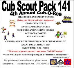 Cub Scout Pack 141 Cub-O-Ree