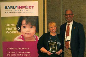 Tamara Slife at CHIP Honored with Award