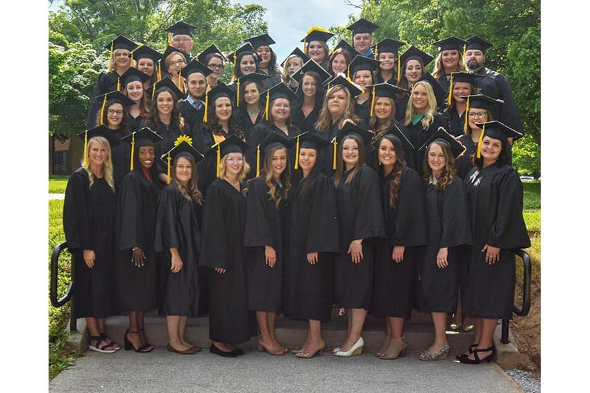 Forty NRCC nursing students receive degrees and pins