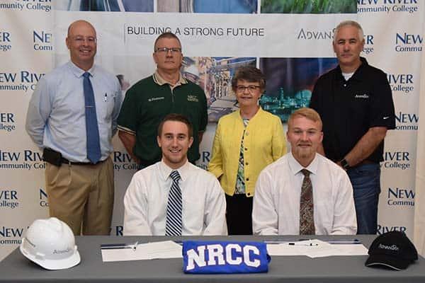 NRCC Holds Signing Day for Instrumentation Grads