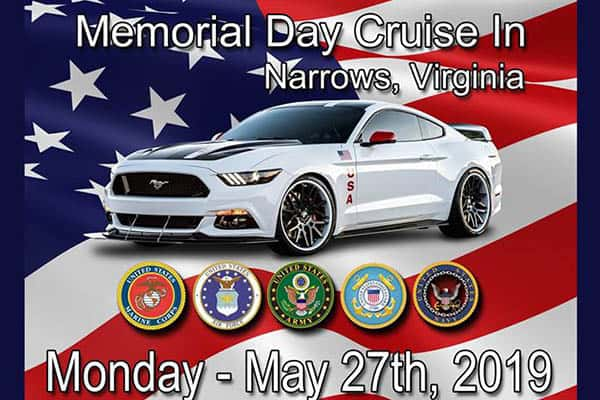 5/27: Memorial Day Cruise In and Parade