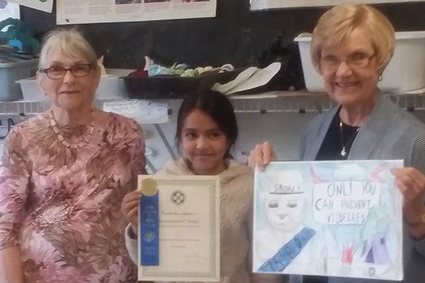 Blacksburg New School student wins contest