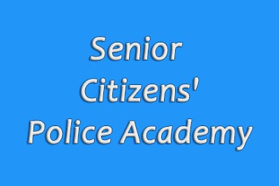 Senior Citizens' Police Academy