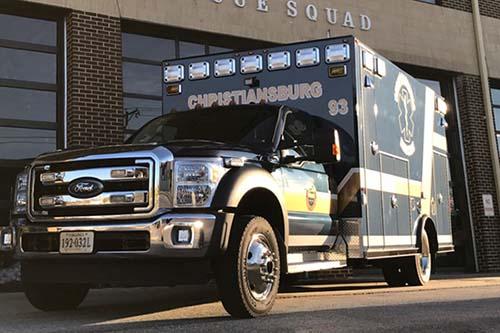 Christiansburg Rescue wins AHA award