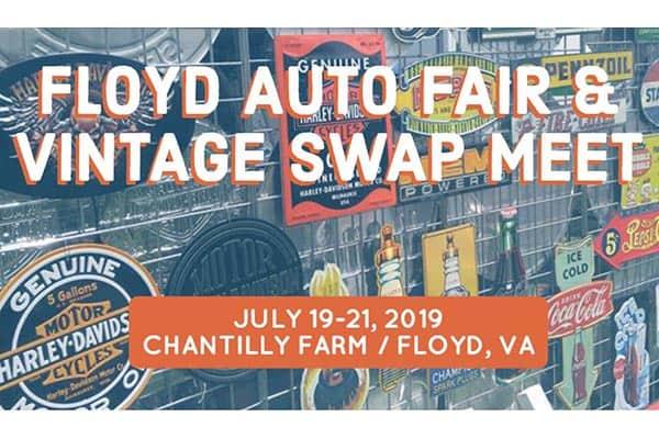 7/19-21: Floyd Auto Fair and Vintage Swap Meet