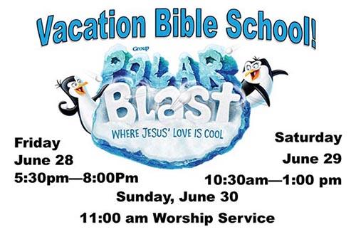 6/28-30: Polar Blast VBS