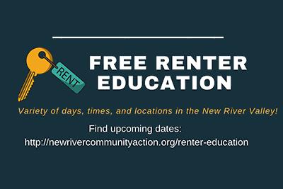 Free Renter Workshops