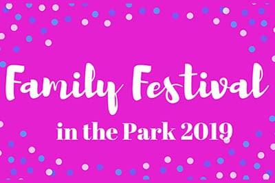 7/19: Family Festival in the Park