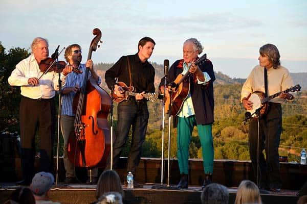 Peter Rowan Bluegrass Band at Floyd Country Store