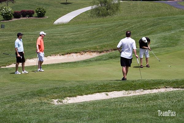 8/12: Golf with IDA