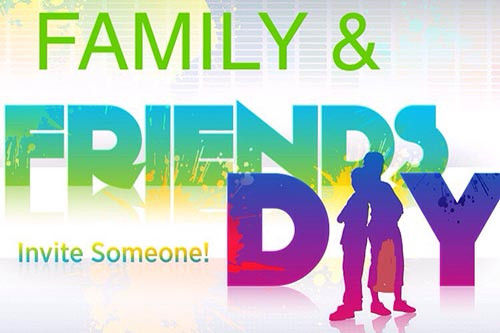 8/18: Friends and Family Day