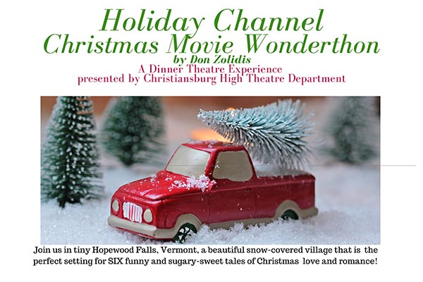 A Dinner Theater Experience: Holiday Channel Christmas Movie Wonderthon