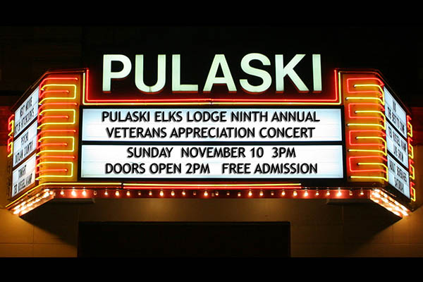 11/10: Veterans Appreciation Concert