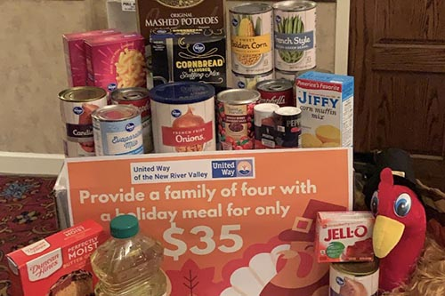 Provide A Holiday Meal For A Family Of Four