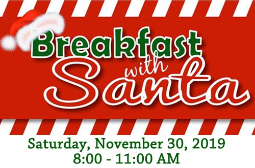 11/30: Breakfast with Santa