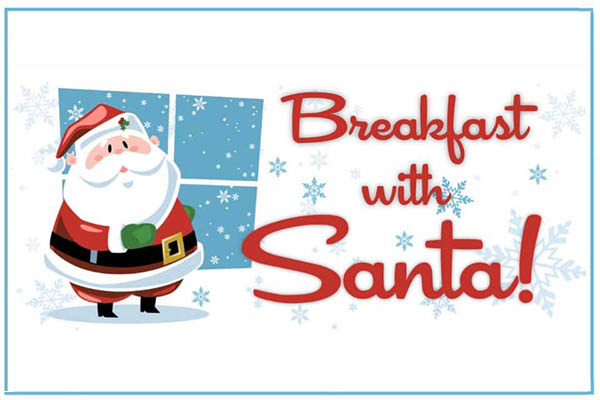 12/7: Breakfast with Santa in Pearisburg
