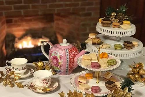 Christmas Tea at Fiddlesticks Farmhouse in Floyd