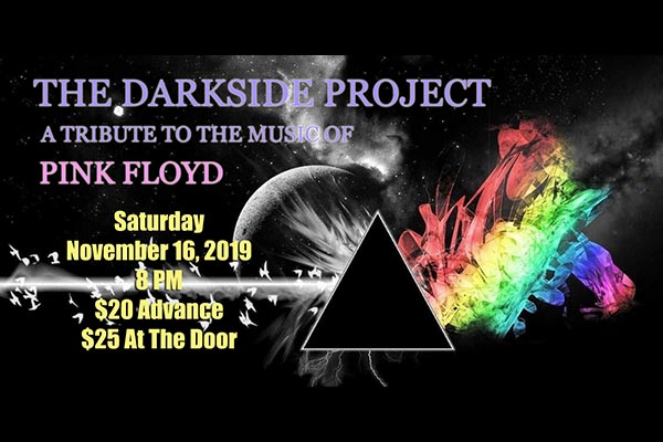 11/16: Darkside Project – A Tribute to Pink Floyd