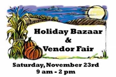 11/23: Grove UMC Holiday Bazaar