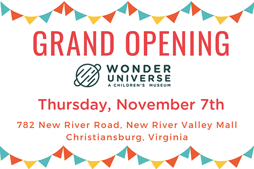 11/7: Grand Opening of Wonder Universe