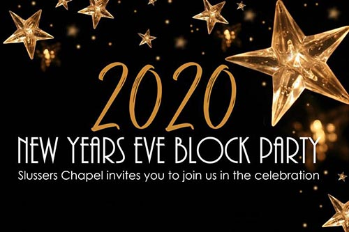 12/31: 2020 New Year's Eve Block Party