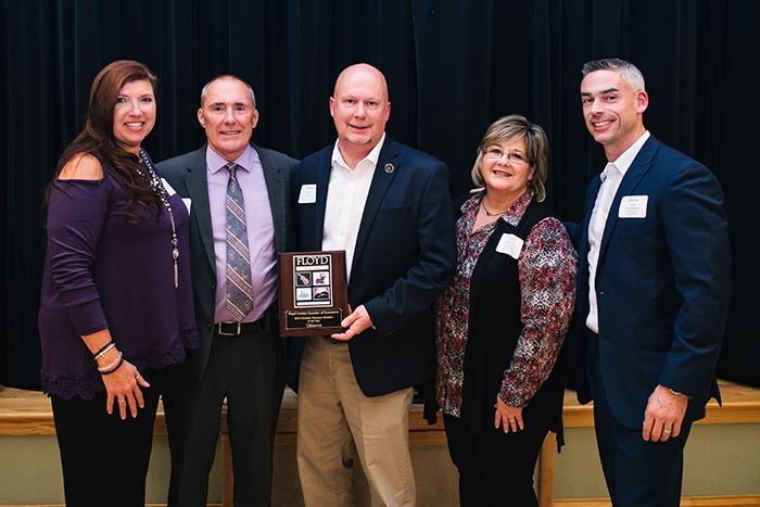 Floyd Chamber of Commerce Presents Annual Awards