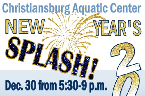 12/30: New Year's Splash