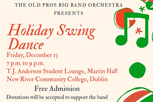 12/13: Old Pros Big Band Holiday & Christmas Swing Dance