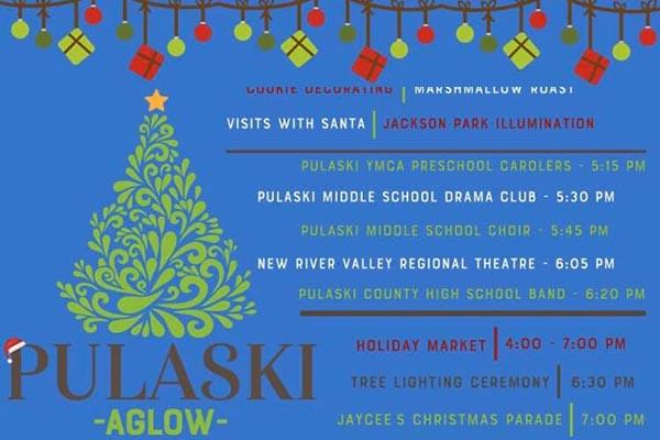 12/5: Pulaski Aglow