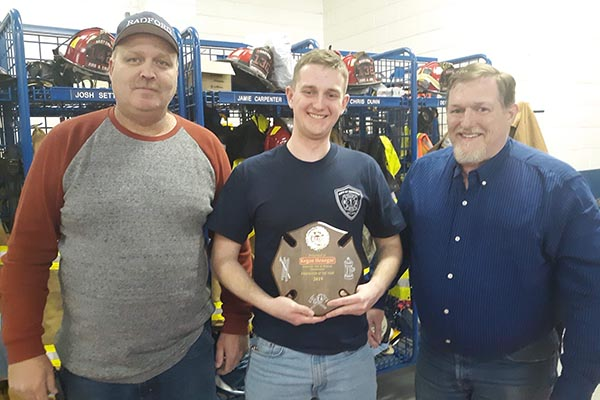 Radford Fire Department Firefighter of the Year
