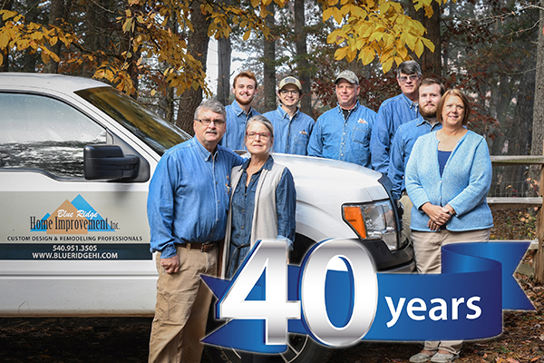 Family-Owned Remodeler Celebrates 40 Years in the NRV