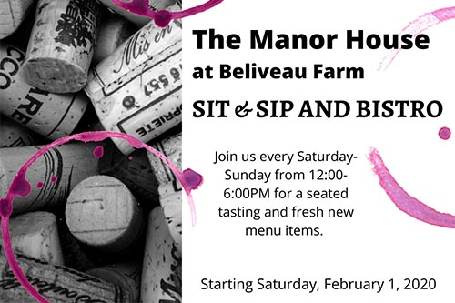2/1: Sit and Sip at Beliveau